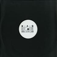Front View : R-A-G - DREADFULLY NERVOUS (BLACK VINYL) - M>O>S DEEP / MOS DEEP 029