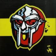 Front View : MF Doom - GAS DRAWLS / ? / HERO VS. VILLAIN (7 INCH) - Metal Face / MF106-7