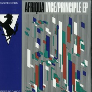 Front View : Afriqua - VICE/PRINCIPLE (2X12 INCH) - R&S Records / RS1808