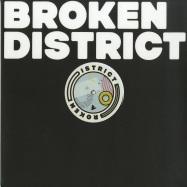 Front View : Various Artists - BROKEN DISTRICT 02 - Broken District / BKD002