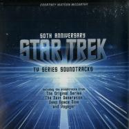 Front View : Star Trek - 50 ANNIVERSARY-TV SERIES SOUNDTRACKS INCL.BOOK (2LP) - Zyx Music / ZYX 21112-1D