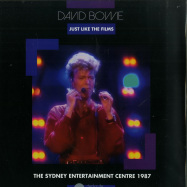 Front View : David Bowie - JUST LIKE THE FILMS (LTD PURPLE LP) - Roxborough Music Broadcasts / ROXMB017-C