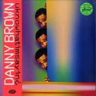 Front View : Danny Brown - UKNOWHATIMSAYIN (LP + MP3) - Warp Records / WARPLP307