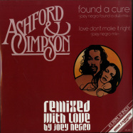 Front View : Ashford & Simpson - FOUND A CURE / LOVE DONT MAKE IT RIGHT (JOEY NEGRO REMIXES) - High Fashion Music / MS 480