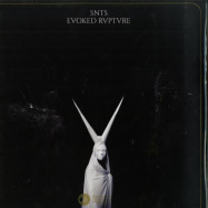 Front View : SNTS - EVOKED RVPTVRE (WHITE 180G VINYL) - SNTS / SNTS014
