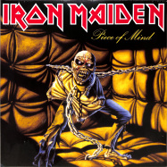Front View : Iron Maiden - PIECE OF MIND (Black Vinyl 2LP) - Parlophone Label Group (plg) / 2564624882