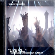 Front View : John O Callaghan - LIVE AS ... VOL. 2 (CD) - Discovercd04