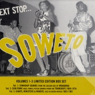 Front View : Various Artists - NEXT STOP SOWETO VOL 1 - 3 LTD BOX (3CD) - Strut074CD / 330742