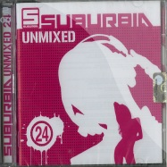 Front View : Various Artists - SUBURBIA UNMIXED 24 (2CD) - Saifam Music / com1294-2