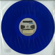 Front View : Kraak & Smaak - WAY BACK HOME EP (BLUE COLOURED VINYL) - Razor-N-Tape Reserve / RNTR010