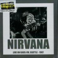 Front View : Nirvana - LIVE ON KAOS-FM, SEATTLE 1987 (180G LP) - Interference / intrlp0004