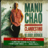 Front View : Manu Chao - CLANDESTINO / BLOODY BORDER (CD, LIMITED) - Because Music / BEC5543731