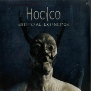 Front View : Hocico - ARTIFICIAL EXTINCTION (BLUE & GREY 2LP + MP3) - Out Of Line / OUT1026-27