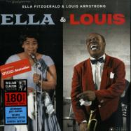 Front View : Ella Fitzgerald & Louis Armstrong - ELLA & LOUIS (180G LP) - Jazz Images / 1019153EL2