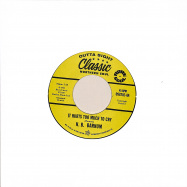 Front View : Roy Hamilton/h. B. Barnum - EARTHQUAKE/IT HURTS TOO MUCH TO CRY (7 INCH) - Outta Sight / OSV202