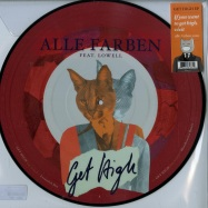 Front View : Alle Farben feat. Lowell - GET HIGH EP (PIC DISC) - Sony B1 Recordings / 88875131371