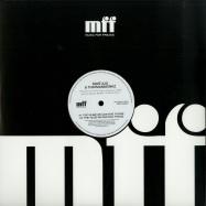 Front View : Dave Aju & Thatmanmonkz - THEY SLEEP WE LOVE FT. FOXXEE (150 G VINYL) - Music For Freaks / MFF15021