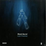 Front View : Black Barrel - LAST FRONTIER LP (TURQUOISE & BLACK 2X12 LP) - Dispatch / DISBBLP001