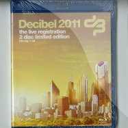 Front View : Various Artists - DECIBEL 2011 (BLU-RAY + CD) - Cloud 9 Music / cb2s2011008