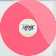 Front View : Kastil / Adryiano - UATTEFAK (180G PINK & WHITE VINYL) - Soul Notes Recordings / SNX001
