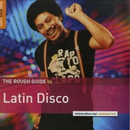 Front View : Various Artists - THE ROUGH GUIDE TO LATIN DISCO (LTD LP + MP3) - Rough Guides / RGNET1338LP /1947585
