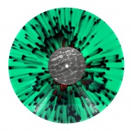 Front View : Boston 168 - OBLIVION EP (GREEN RED OPAQUE SPLATTER) - Odd Even / ODDEVEN004SP