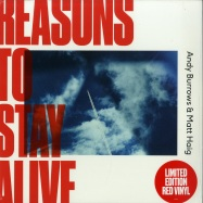 Front View : Andy Burrows & Matt Haig - REASONS TO STAY ALIVE (LTD RED LP + MP3) - Fiction / rtsa001 / 256789852