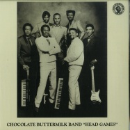 Front View : Chocolate Buttermilk Band - HEAD GAMES (7 INCH) - Past Due / PASTDUE015