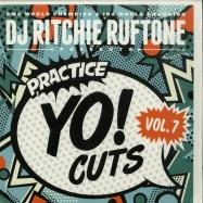 Front View : DJ Ritchie Ruftone - PRACTICE YO! CUTS VOL. 7 (BLUE 7 INCH) - Turntable Training Wax / TTW015