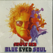 Front View : Simply Red - BLUE EYED SOUL (LP) - BMG / 405053852918