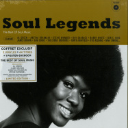 Front View : Various Artists - SOUL LEGENDS (3LP BOX) - Wagram / 3369346 / 05180421