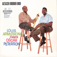 Front View : Louis Armstrong & Oscar Peterson - ARMSTRONG MEETS PETERSON (ACOUSTIC SOUNDS) (LP) - Verve / 0868785
