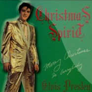 Front View : Elvis Presley - CHRISTMAS SPIRIT (GREEN VINYL 10 INCH LP) - Rockwell Records / rwten002-c
