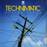 Front View : Technimatic - DESIRE PATHS (2X12 BLACK VINYL REPRESS) - Shogun Audio / Sha082B