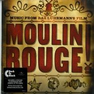 Front View : Various Artists - MOULIN ROUGE O.S.T. (180G 2X12 + MP3) - Universal / 5761191