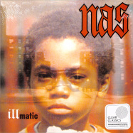 Front View : Nas - ILLMATIC (CLEAR LP + MP3) - Sony Music Catalog / 19439843111