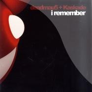 Front View : Deadmau5 & Kaskade - I REMEMBER PART 2 - Mau5trap / mau5017x