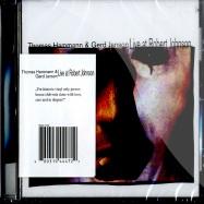 Front View : Thomas Hammann & Gerd Janson - LIVE AT ROBERT JOHNSON (CD) - Live At Robert Johnson / Playrjc CD 04