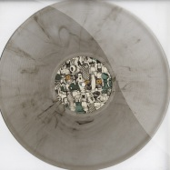 Front View : Uniforms ft. Maria Nordstrom - MARCH OF NO COINCIDENCE (CLEAR SMOKEY VINYL) - Trunkfunk / tf0186