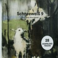 Front View : Various Artists - SCHNEEWEIß 9 PRESENTED BY OLIVER KOLETZKI (CD) - Stil Vor Talent / SVT223CD