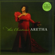 Front View : Aretha Franklin - THIS CHRISTMAS (LP) - DMI Records / 8760390