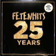 Front View : Various - FETENHITS - 25 YEARS (4LP) - Polystar / 5394679