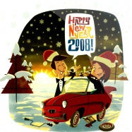 Front View : Various - HAPPY NEW YEAR 2008 (7inch) - Elefant Records / ER-258