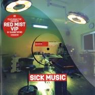 Front View : Danny Byrd / Friction & K-tee - RED MIST VIP / FIRED UP - Hospital / nhs155