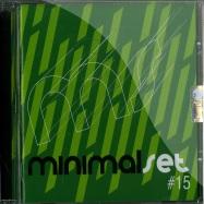 Front View : Various Artists - MINIMAL SET 15 (CD) - Saifam / atl931-2