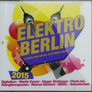 Front View : Various Artists - ELEKTRO BERLIN 2015 (2XCD) - Pink Revolver / 26421082