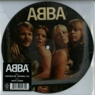 Front View : Abba - KNOWING ME, KNOWING YOU / HAPPY HAWAII (7INCH PIC VINYL) - Polar Music / 4795074