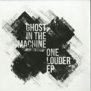 Front View : Ghost In The Machine - ONE LOUDER EP (WHITE VINYL REPRESS) - Perc Trax / TPT074RP