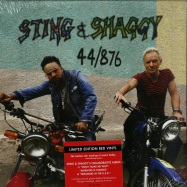Front View : Sting & Shaggy - 44/876 (LTD RED LP) - Universal / 6750289