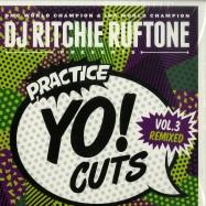 Front View : DJ Ritchie Ruftone - PRACTICE YO CUTS VOL. 3 REMIXED (GREEN 7 INCH) - Turntable Training Wax  / TTW005
